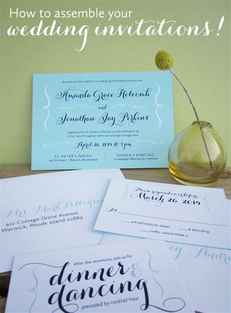 how to assemble wedding invitations how to assemble wedding invitations american wedding wisdom