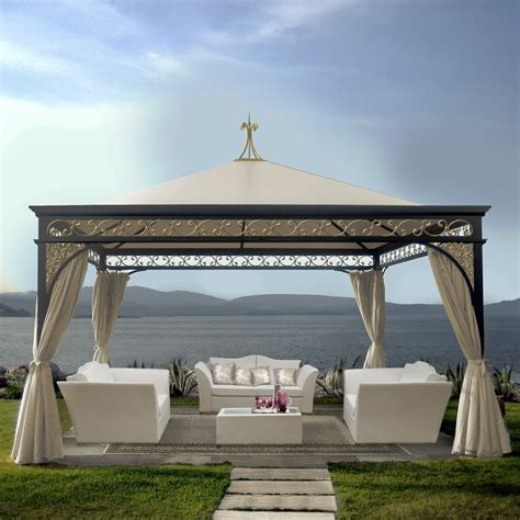 giardino gazebo unosider luxury luxury outdoor