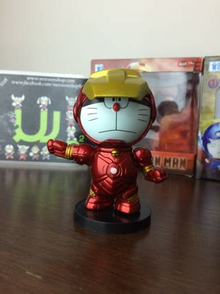 Doraemon Captain America 1 jual doraemon thor iron captain america