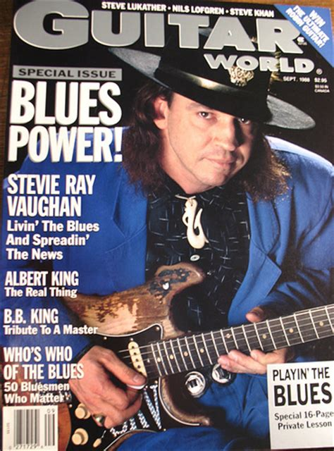 stevie ray vaughan images srv guitar world cover wallpaper  background