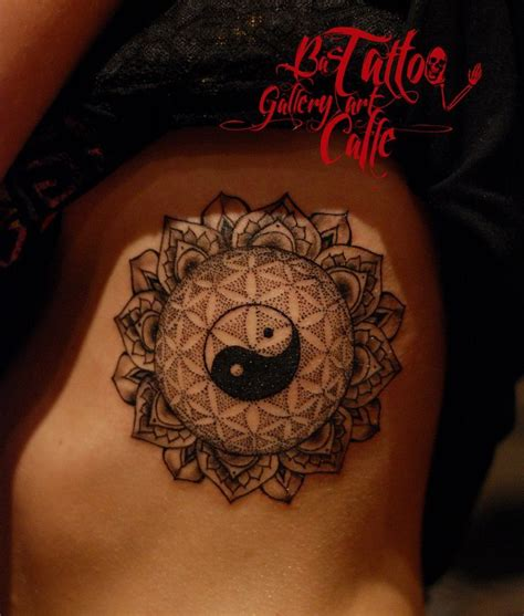 yin yang flower tattoo 25 best ideas about ying yang sign on yin and