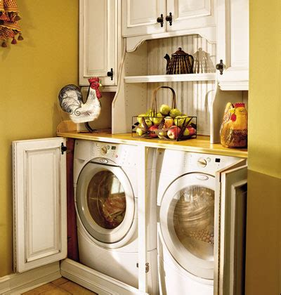 cabinets to hide washer and dryer ideas for organizing a laundry room www nicespace me
