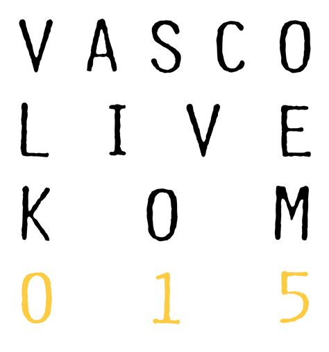 tour 2015 vasco vasco nuovo tour di stadi nel 2015