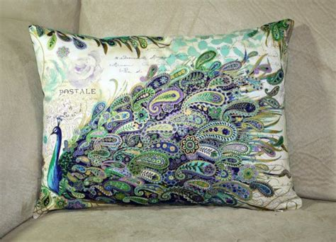 Gorgeous Paisley Things To Own by Beautiful Paisley Peacocks Decorative Pillow By