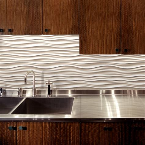 wavy backsplash dune tile by modular arts products i love pinterest