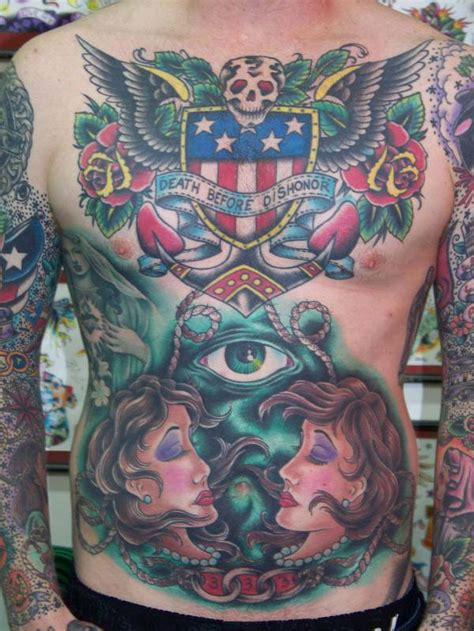 oliver peck tattoo before dishonor by oliver peck tattoonow