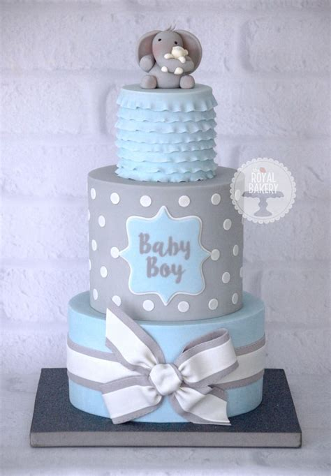 For Boy Baby Shower by 25 Best Ideas About Baby Boy Cakes On Boy