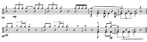 swing notation jazz notation symbols