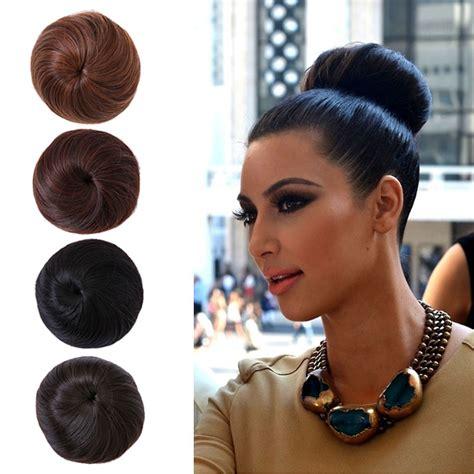 allie express hair buns 1pc hair bun chignon extension hairpieces big hair bride