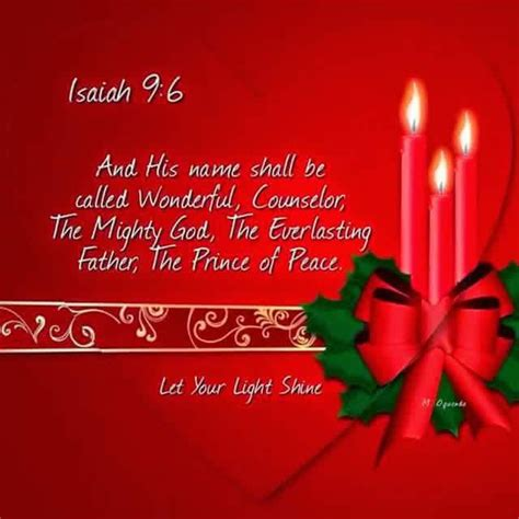 isaiah  christmas messages