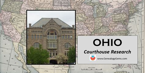 Ohio Records Genealogy Ohio Genealogy Research And The Courthouse