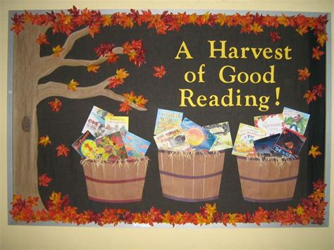 Halloween Reading Themes | reused my halloween themed bulletin board from october