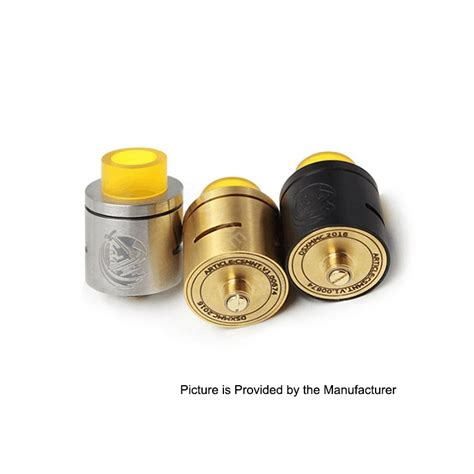 Prometheus Rda Rebuildable Atomizer csmnt cosmonaut style rda golden 24mm ss rebuildable atomizer