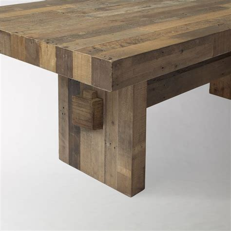 West Elm Reclaimed Wood Table west elm reclaimed wood dining table for the home