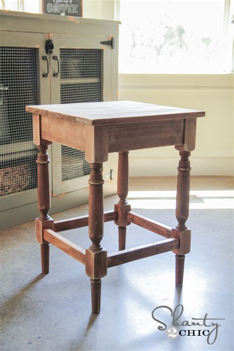 how to build a bar stool from scratch plans free