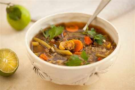 ww garden vegetable soup weightwatchers zero points veggie soup our way from