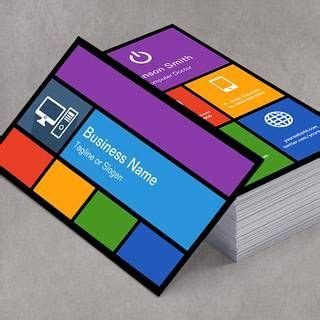 computer business card template 15 best images about buisness cards on