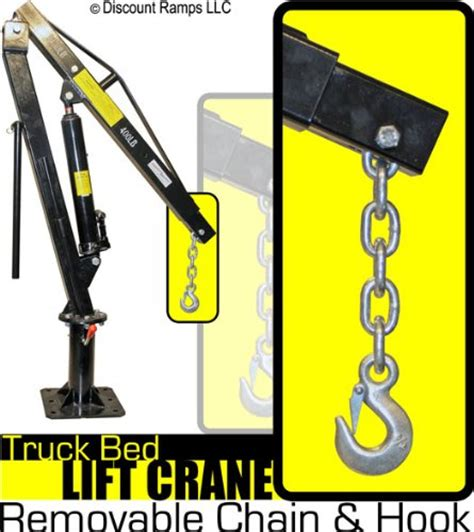 Truck Bed Hoist by Truck Cranes Hoist Motorcycle Review And Galleries