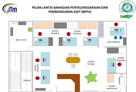 Nan Cantik Besar 3113 contoh pelan lantai pejabat rumah minimalis oke resumer exle