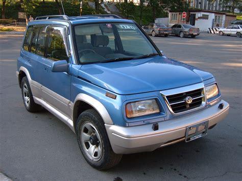 Escudo Suzuki 1997 Suzuki Escudo Pictures 2000cc Gasoline Automatic