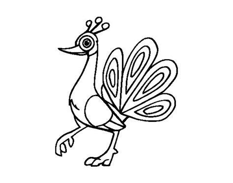 pavo real para pintar imagenes para pintar dibujos de un pavo real para pintar imagui