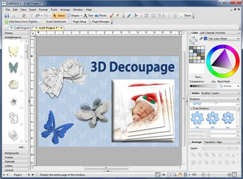 Paper Craft Software - review of serif craftartist 2 professional creative