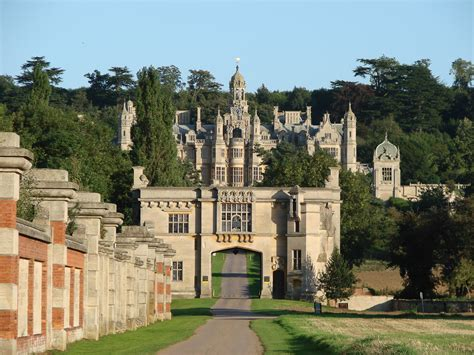 House Living Room by The Manor Harlaxton College Ue
