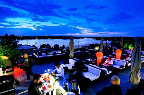 top bars in hamburg the carilounge roof terrace on the alster in hamburg