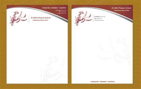 Pup Letterhead College Of Business 65 personable school letterhead designs for a
