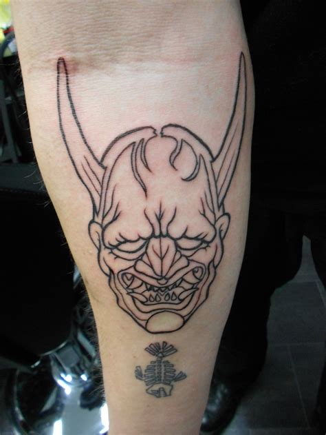 hannya mask tattoo best 25 hannya mask ideas on oni
