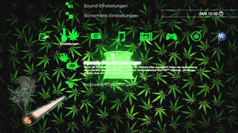 themes ps4 weed custom dynamic theme weed youtube