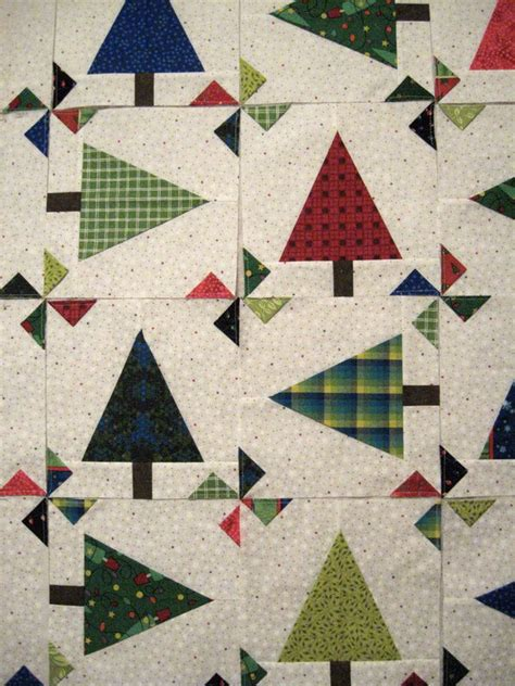 pattern paper hancock christmas trees and prairie point pinwheels love free