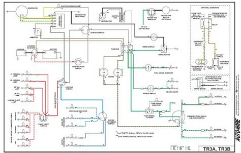 tr3 wiring diagram tr2 tr3 forum triumph experience
