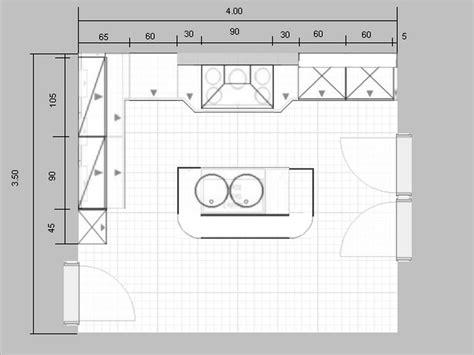 cuisine dimension mod 232 le de plan de maison plain pied avec 3 chambres et