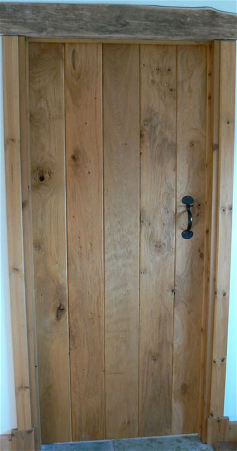 Handmade Oak Doors - cottage oak oak doors made oak planked doors and