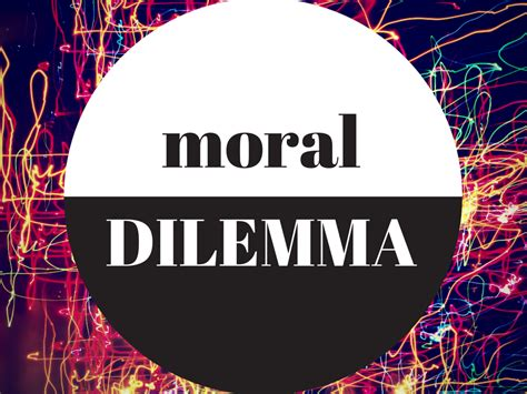 The Moral Series guest post the moral dilemma class series olami resources