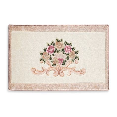 Bed Bath Beyond Bathroom Rugs Avanti Rosefan Bath Rug Bed Bath Beyond