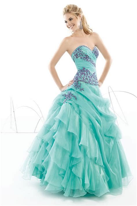 Pretty Dresses pretty blue prom dresses fashion trends styles for 2014