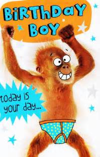 birthday boy today is your day to go bananas cards birthday boys