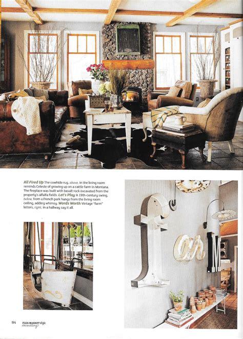 flea market style magazine decorating issue 8