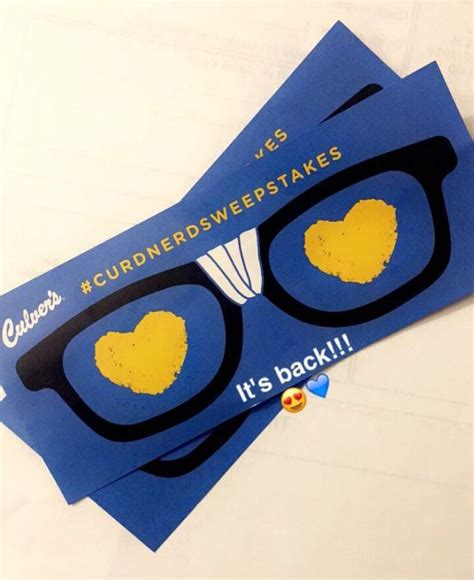 Sweepstakes Postmarked - culverscurdnerd com win 1 000 and thousands of culver s coupons