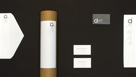 identity architects up architectural branding for ascher davis architects