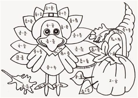 thanksgiving multiplication coloring pages coloring pages thanksgiving multiplication color by