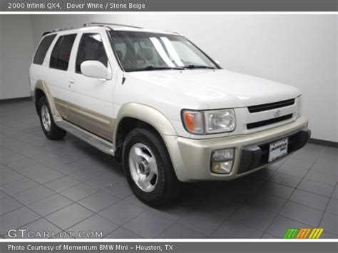 2000 infinity qx4 dover white 2000 infiniti qx4 beige interior