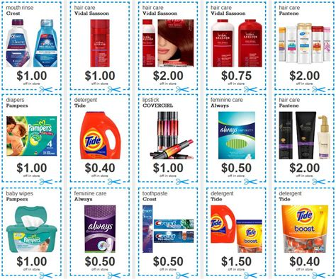 grocery coupons edmonton printable free printable coupons for brand name products