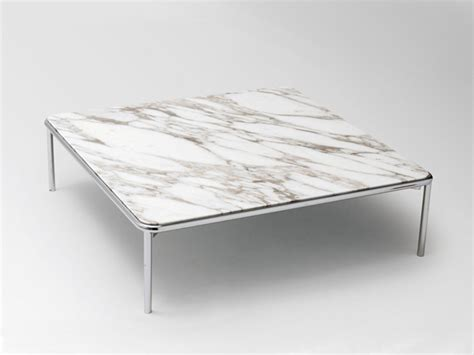 Up Square Coffee Table By La Cividina Design Luca Botto Square Marble Coffee Table