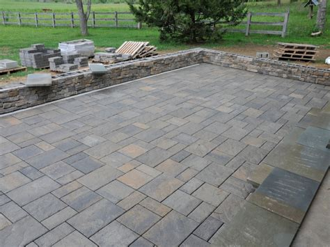 paver patio designs with pavers stones
