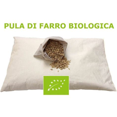 cuscino farro cuscino letto in di farro biologica