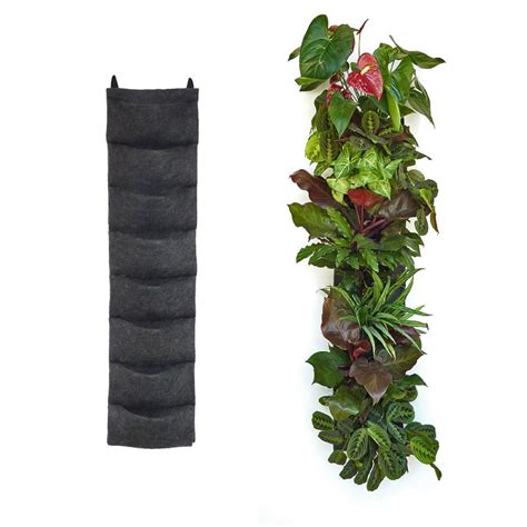 Florafelt 8 pocket vertical garden planter