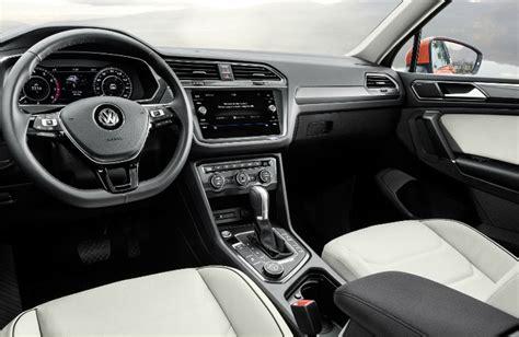 volkswagen tiguan 2018 interior 2018 volkswagen tiguan features and specs